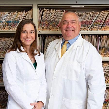 Dr. Samantha Heisler and Dr. Anthony Giannetti
